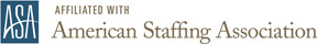 Affiliated with American Staffing Association